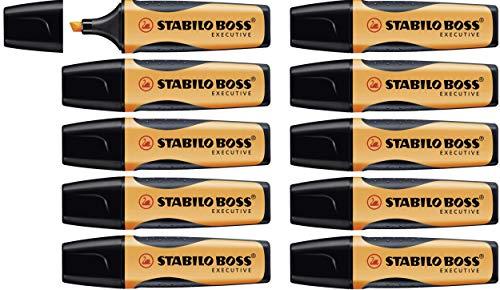 STABILO BOSS EXECUTIVE Evidenziatore colore Arancio - Confezione da 10