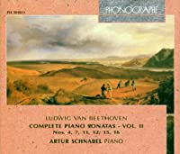 Comp.piano Sonatas Vol.ii: Schnabel(P)