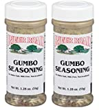 River Road Gumbo Seasoning, 1.25 Ounce Shaker (Pack of 2)