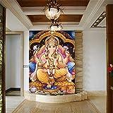 Tapete Indische Götter Wandbilder Hindu Gottheiten Buddha 3D Fototapeten Tapeten Für Hintergrund Religion 3D Wallpaper