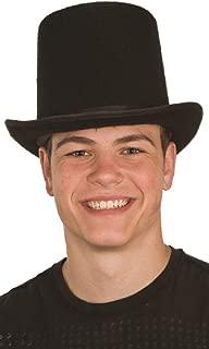 Jacobson Hat Company Unisex Deluxe Black Felt Top Hat