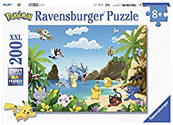 XXL puzzle, 200 pieces. The size and number of pieces puzzles are for the age of the child. The bigger your child gets, the smaller the puzzle piece gets and there are more. With the best licenses of the hour, and illustrations of animals (kittens, r...