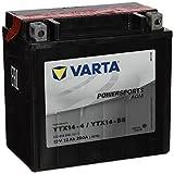 Batteria Moto Varta 12V 12Ah 200A POWERSPORTS AGM YTX14-4/YTX14-BS 512014010