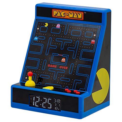 Teknofun Pac-Man Arcade Style Wecker 811301 Schwarz