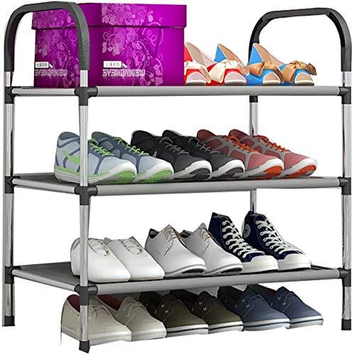 qazxsw Estante para Zapatos de Tela no Tejida Independiente, Entrada, Montaje rápido, Estante de Almacenamiento Resistente, fácil de Montar, Organizador de Zapatos Que Ahorra Espacio 1214