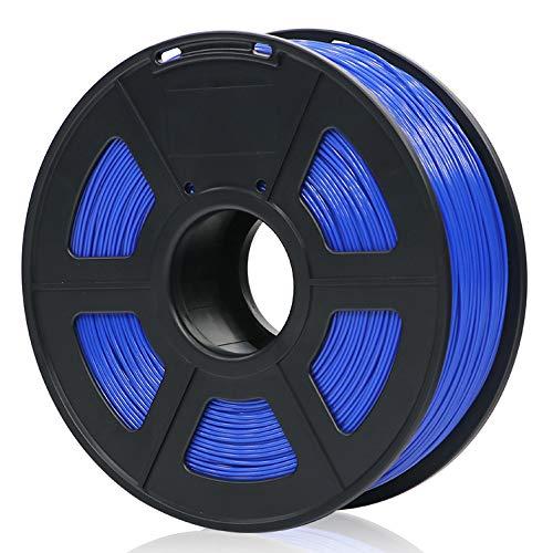 ANYCUBIC PLA 3D Drucker Filament, Toleranz beim Durchmesser liegt bei +/- 0,02mm, 1kg Spule, 1.75mm für 3D-Drucker und 3D-Stifte,Verschiedene Farben (Blau)
