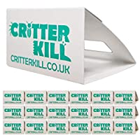 *Professional Sticky Spider Trap* - This Discreet Trap Is The Perfect Solution For Spider And Insect Problems. Using A Highly Concentrated Non Poison Pheromone Glue Attracts The Insects Into The Trap From Either End And Once They Are In There Is No E...