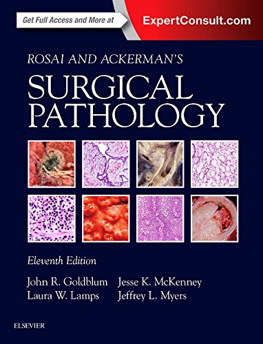 Compare Textbook Prices for Rosai and Ackerman's Surgical Pathology - 2 Volume Set 11 Edition ISBN 9780323263399 by Goldblum MD  FCAP  FASCP  FACG, John R.,Lamps MD, Laura W.,McKenney MD, Jesse K.,Myers MD, Jeffrey L