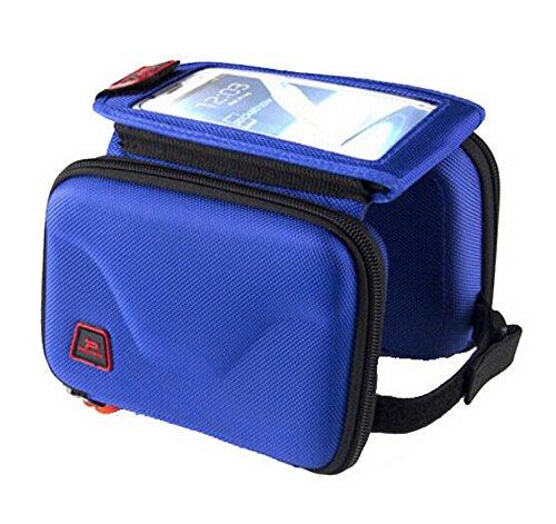 Selles Pack - Tube Avant package avec un sac de téléphone portable - Bleu