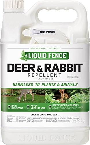 Liquid Fence 70109-1 Home-pest-repellents, 1 gal - 4 count