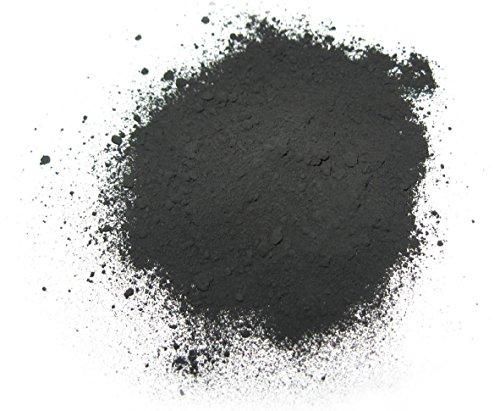 Karelian Heritage Schungitpulver aus Russland Biologisch für Behandlungen, Wasser, Kosmetik 500 gr schwarz
