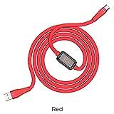Hoco. Cable USB tipo C 3.0 A de carga rápida pantalla LED + cable de...
