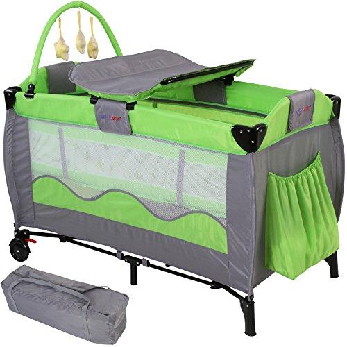 infantastic KRB02grün Reisebett für Kinder, grün