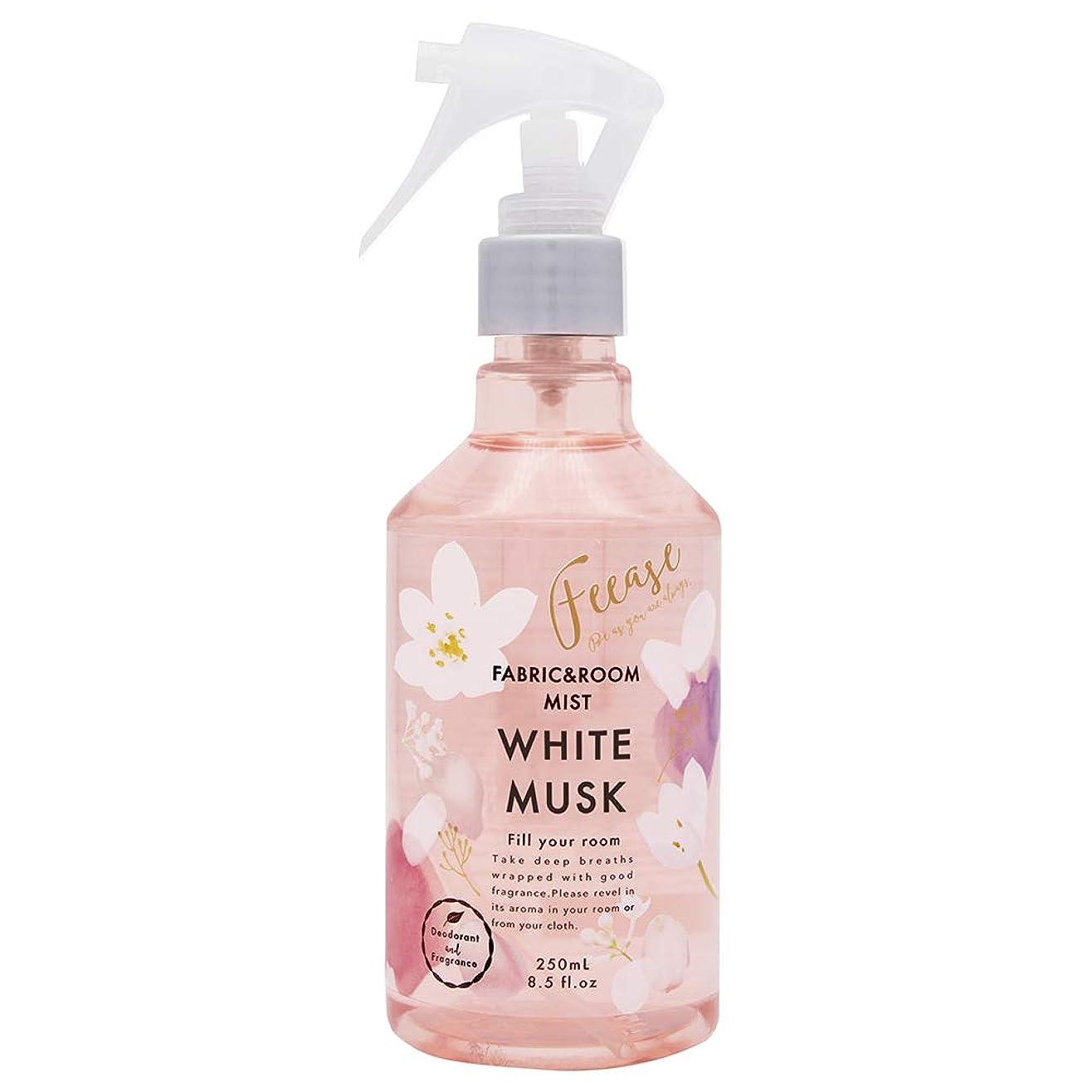 不利工場誓うノルコーポレーション ルーム&ファブリックミスト フィース 消臭成分配合 ホワイトムスクの香り 250ml OA-FEE-1-2