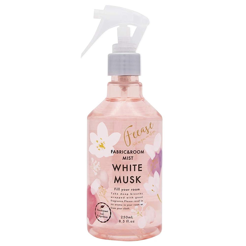 慣性ポインタ近々ノルコーポレーション ルーム&ファブリックミスト フィース 消臭成分配合 ホワイトムスクの香り 250ml OA-FEE-1-2