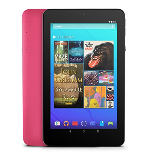 Ematic 7-Inch HD Quad-Core Tablet with Androir 5.0, Lollipop - Pink (EGQ367BDPN)