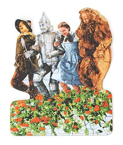 Playhouse Wizard of Oz Poppy Fields 26-Piece Die-Cut Shaped Mini Puzzle for Kids