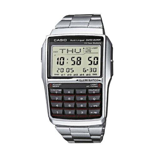 Orologio originale CASIO DBC-32D-1A calcolatrice luce telememo 25 vintage