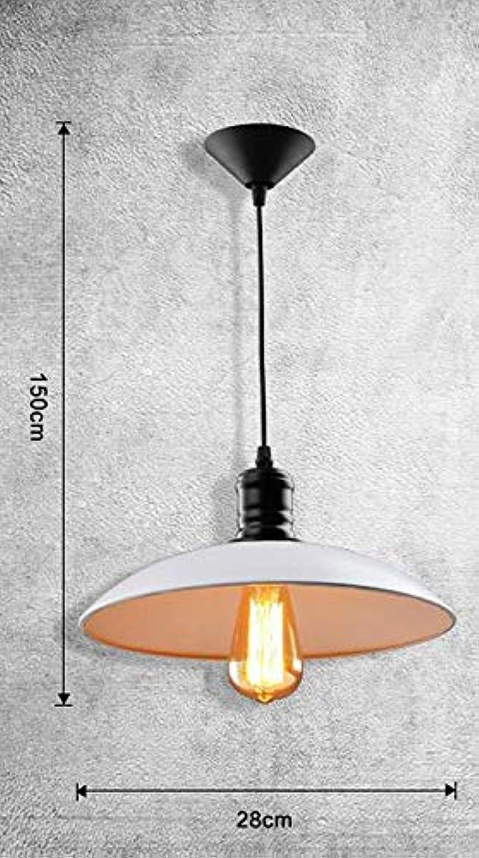 Oudan Retro Modern, minimalistische Kronleuchter als kreative Lampe American Country Esszimmer Kronleuchter Lampe mit Einem einzigen Kopf Eisen (Farbe   -, Gre   -)