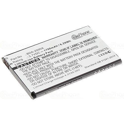 cellePhone Akku Li-Ion kompatibel mit Doro Liberto 822 825 8030 8031 - SmartEasy 824 (Ersatz für BDA-2000A)