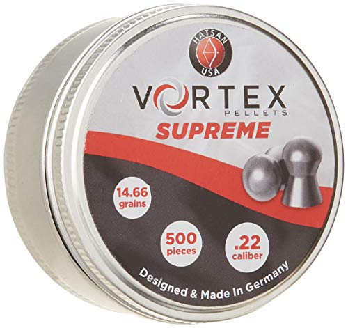 Hatsan Vortex Supreme Pellets.22, 14.66G (Per 500)