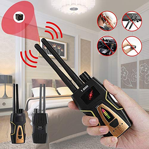 TBDLG Detector De Insectos AntiespíA, Localizador GPS, Detector De CáMara Oculta, Sensibilidad, Dispositivo gsm Multifuncional