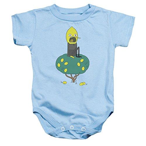 Adventure Time - - Onesie Lemongrab Toddler, 18 Months, Light Blue