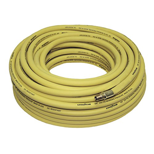 Goodyear Rubber Air Hose - 3/8in. x 100ft. 250 PSI, Model Number 46506