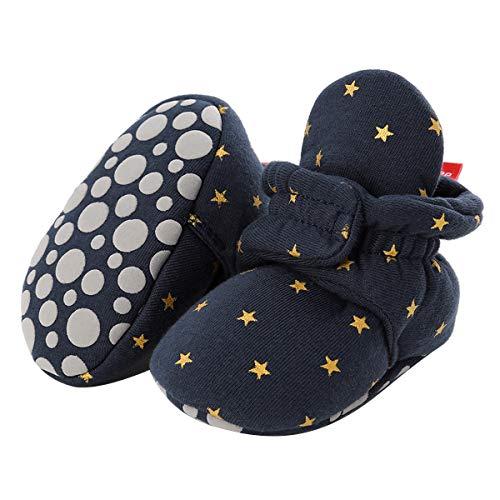 Borlai Neugeborenes Baby Booties rutschfeste Winter Babyschuhe gemütliche Schuhe Säugling erste Wanderer