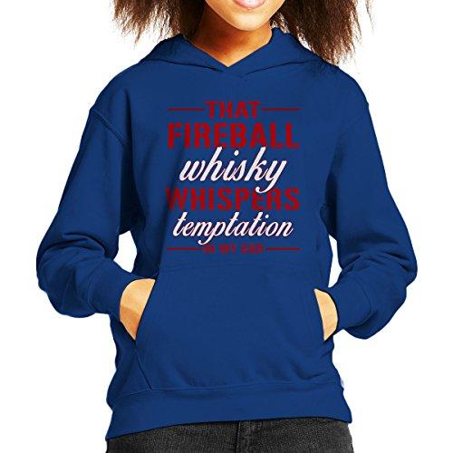 Cloud City 7 Fireball Whisky Sweatshirt met capuchon voor kinderen