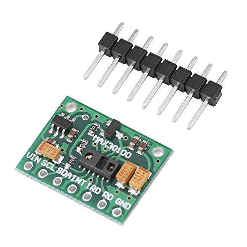 Hilitand MAX30100 Entwicklungsplatine für Herzfrequenz-Pulsoximeter Sensormodul für Wearable Health Fitness Assistant-Geräte Medizinische Überwachungsgeräte