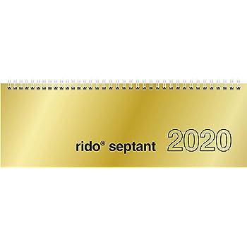 Planning agenda da tavolo 2020 settimanale spiralato AGENDEPOINT.IT/® 13x30 VERDE SCURO