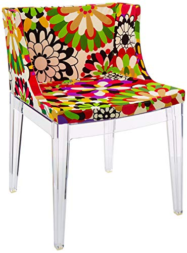 Kartell Mademoiselle À La Mode stoel, plastic, rood, 52,5 x 74 x 50 cm