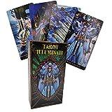 Hard Disk Tarot Illuminati Kit,78 Juegos de Cartas de Tarot Estilo Cartas, 10,3 * 6 Comprimidos en la Misma proporción, lo Que facilita su Transporte.