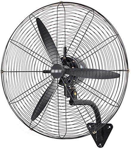 Byakns Negocio en casa for el Invernadero Industrial Negocios Residencial - Soporte de Pared Ventilador - Ajustable de rotación oscilante de Aire de circulación 3 la Velocidad del Ventilador de Pared