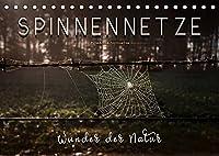 Spinnennetze - Wunder der Natur (Tischkalender 2022 DIN A5 quer): Technische Meisterleistungen der Spinnen in ausdruckstarken Bildern. (Monatskalender, 14 Seiten )