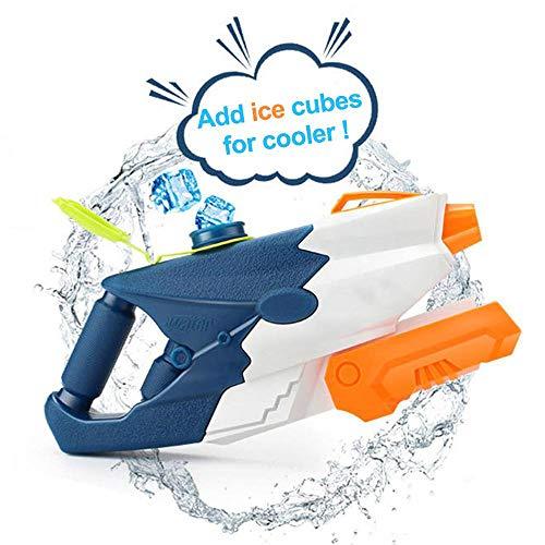 AFF Super Wasserpistolen 1100 ML Hochleistungs-Wasserspritzpistole für Kinder und Erwachsene Leistungsstarke Langstrecken-Super-Soaker für Schwimmbadpartys Strand-Wasserschlacht im Freien