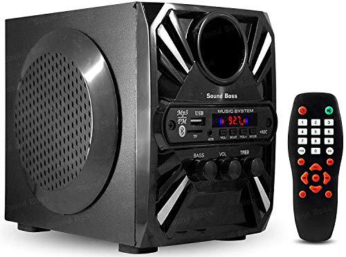 Sound Boss SBHT-2048 20 W Bluetooth Mobile/Laptop/Desktop Multimedia Speaker (Black, Stereo Channel)