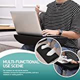 Healifty Fußstütze unter dem Schreibtisch - Höhenverstellbares Bürofußpolster - Ergonomisch Fußkissen - für Lendenwirbelsäule, Rücken, Knieschmerzen