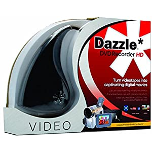 Pinnacle Dazzle DVD Recorder HD – Video Capture Card Device [PC Disc]