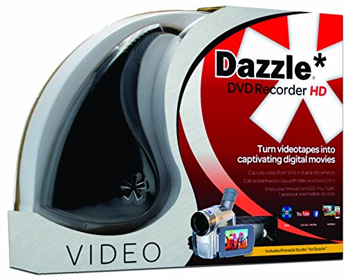 Pinnacle Dazzle DVD Recorder HD | Video Capture Device + Video Editing...