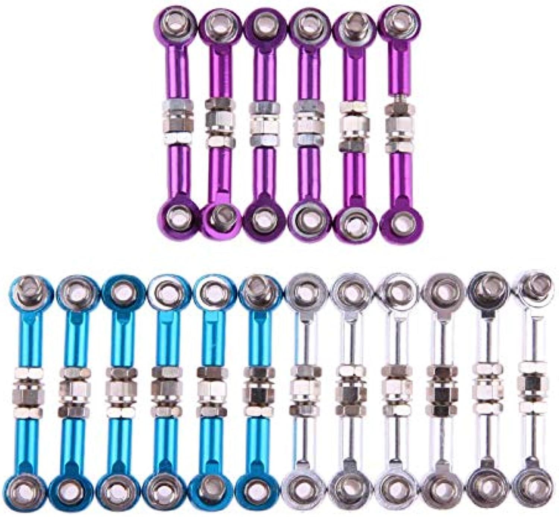 Generic 6pcs Pull Rods for HSP Redcat 1 10 Car Linkages RC Car Parts Pull Rods Suitable for HSP Redcat 94101 94102 94103 94122 94123 Multi