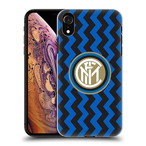 Head Case Designs Licenza Ufficiale Inter Milan in Casa 2020/21 Kit Crest Cover Dura per Parte Posteriore Compatibile con Apple iPhone XR