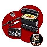 luspo Le Sushi Maker Moules à Sushi Maki Complet + 50 Recettes Offertes|...