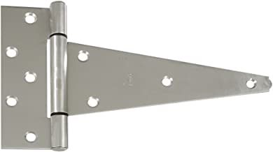 National Mfg. N342-535 Extra Heavy 10-Inch Stainless Steel T Hinge
