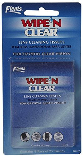 Flents Wipe 'n Clear Lens Cleaning Tissues-25 ct