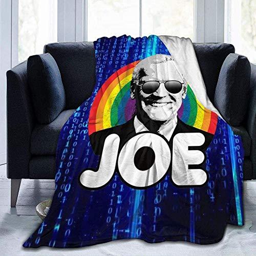 XZHYMJ Blanket 2020 Biden para la campaña Presidencial Manta de Lana de Franela Tiro impresión 3D 50x40 Pulgadas