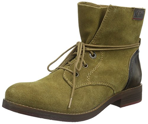 s.Oliver Damen 25203 Chukka Boots, Beige (SAND 355), 38 EU