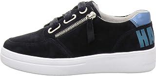 Gabor Comfort Basic Sneaker in grote maten blauw 26.428.46 grote damesschoenen