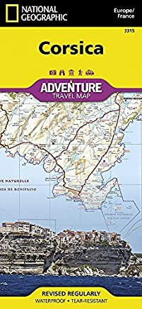 Corsica [France] (National Geographic Adventure Map) by National Geographic Maps - Adventure(2012-02-22)